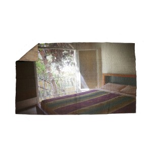 Nº46 Contemporary Remediation - The Mimikry Singlebedspread Iran Quilt Tree