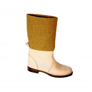 N°50 Todaying - Boots female & male ocher/skin
