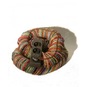 BLESS N°26 Cable Jewellery, Multiplug Multicoloured Bangles