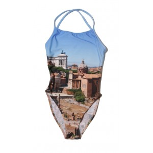 Nº61 Swimmingtogether - Crossback Swimsuit