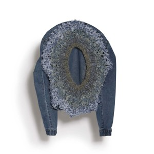 Nº65 Not That I Can't Wait for It - Jeanscirclejacket Blue Denim