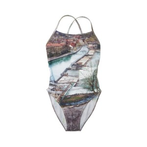 Nº69 Lost in Contemplation Variation - Crossback Swimsuit Bern