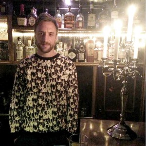 Maarten Van Oers - Owner of the Bar The Black Lodge, Berlin